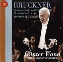 Anton Bruckner (1824-1896): Symphonien Nr.8 & 9, 2 CDs