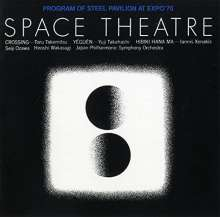 Toru Takemitsu (1930-1996): Space Theatre, CD