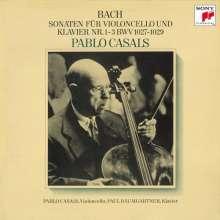 Johann Sebastian Bach (1685-1750): Cellosonaten BWV 1027-1029, CD