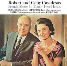 Robert & Gaby Casadesus - French Music for Piano Four Hands, CD