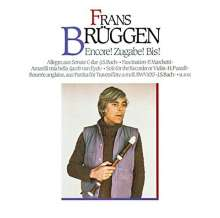 Frans Brüggen - Encore!, CD