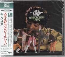 Sly & The Family Stone: A Whole New Thing + Bonus (Blue-Spec CD2), CD