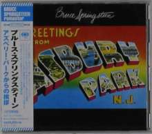 Bruce Springsteen: Greetings From Asbury Park N.J. (remastered), CD