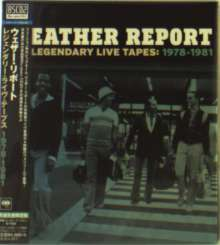 Weather Report: The Legendary Live Tapes:  1978 - 1981 (Blu-Spec CD2), 4 CDs