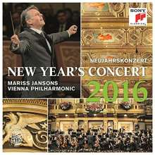 Neujahrskonzert 2016 der Wiener Philharmoniker, 2 CDs