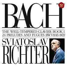 Johann Sebastian Bach (1685-1750): Das Wohltemperierte Klavier 1 (Blu-spec CD), 2 CDs