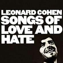 Leonard Cohen (1934-2016): Songs Of Love And Hate +Bonus, CD