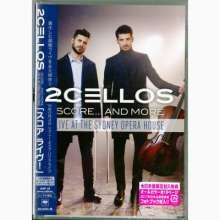 2 Cellos (Luka Sulic & Stjepan Hauser): Score... And More: Live At Sydney Opera House 2016 (Ländercode A), Blu-ray Disc