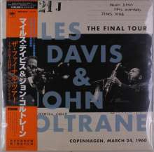 Miles Davis & John Coltrane: The Final Tour - Copenhagen, March 24, 1960 (Limited-Edition) (Mono) (Non-Japan made Disc), LP