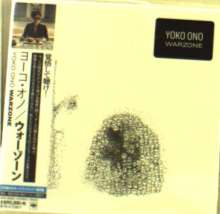 Yoko Ono (geb. 1933): Warzone +Bonus (BLU-SPEC CD2) (Digisleeve), CD