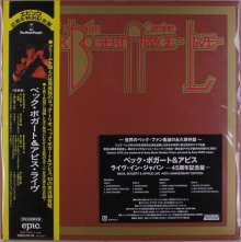 Beck, Bogert & Appice: Live (45th Anniversary) (Limited-Edition), 2 LPs