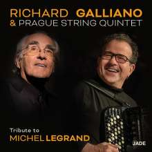 Richard Galliano (geb. 1950): Tribute To Michel Legrand (Blu-Spec CD2), CD