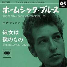 "Bob Dylan: Subterranean Homesick Blues / She Belongs To Me (Clear Pink Vinyl), Single 7"""