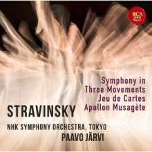 Igor Strawinsky (1882-1971): Jeu de Cartes, CD