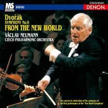 Antonin Dvorak (1841-1904): Symphonie Nr.9 (Ultimate High Quality CD), CD