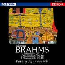 Johannes Brahms (1833-1897): Klavierwerke (Ultimate Hi Quality-CD), CD