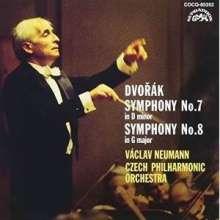 Antonin Dvorak (1841-1904): Symphonien Nr.7 & 8 (Ultimate High Quality CD), 2 CDs
