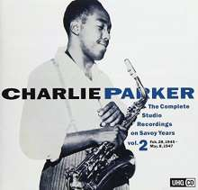 Charlie Parker (1920-1955): The Complete Studio Recordings On Savoy Years Vol.2 (UHQCD) (Mono), CD