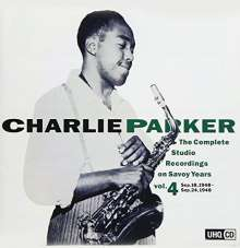 Charlie Parker (1920-1955): The Complete Studio Recordings On Savoy Years Vol.4 (UHQCD) (Mono), CD