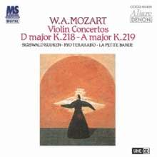 Wolfgang Amadeus Mozart (1756-1791): Violinkonzerte Nr.4 & 5 (Ultra High Quality CD), CD