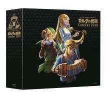 Filmmusik: The Legend Of Zelda Concert 2018, 3 CDs