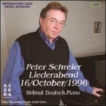 Peter Schreier - Liederabend 16.10.1996, 2 CDs