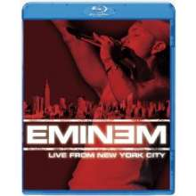 Eminem: Live From New York City, Blu-ray Disc