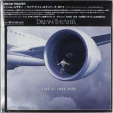 Dream Theater: Live At Luna Park 2012 (Limited Deluxe Edition) (Blu-ray + 2DVD Ländercode 2 + 3CD), 2 DVDs, 3 CDs und 1 Blu-ray Disc