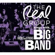 The Real Group: Sings With Kicks & Sticks Big Band (Digipack), CD