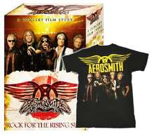 Aerosmith: Rock For The Rising Sun: Live In Japan 2011 (Blu-ray + Shirt Gr.M), Blu-ray Disc