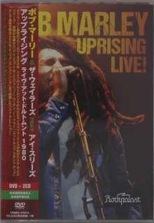 Bob Marley (1945-1981): Uprising Live! (DVD-Format), 2 CDs und 1 DVD
