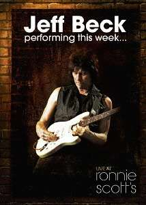 Jeff Beck: Performing This Week: Live At Ronnie Scott's Jazz Club 2007, Blu-ray Disc