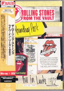 The Rolling Stones: From The Vault: Live in Leeds 1982 (2CD + SD Blu-ray), 2 CDs und 1 Blu-ray Disc