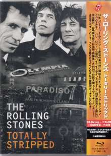 The Rolling Stones: Totally Stripped (SD Blu-ray + 2 CD), 3 Blu-ray Discs