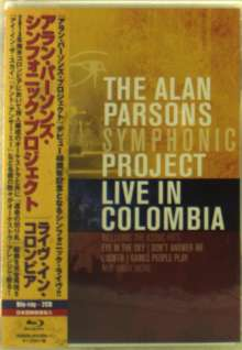 The Alan Parsons Symphonic Project: Live In Colombia 2013 (Blu-ray + 2CD), 3 Blu-ray Discs