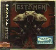 Testament (Metal): Brotherhood Of The Snake +2, CD