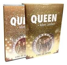Queen & Adam Lambert: Live In Japan 2014, 1 Blu-ray Disc und 1 CD