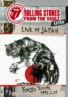 The Rolling Stones: From The Vault: Live At The Tokyo Dome 1990, 3 DVDs