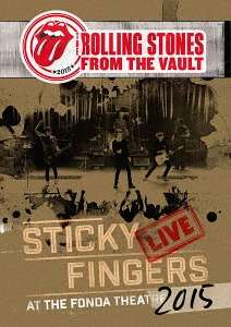 The Rolling Stones: From The Vault: Sticky Fingers – Live At The Fonda Theatre 2015 + Shirt Gr.L, 1 CD, 1 Blu-ray Disc und 1 T-Shirt