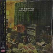 Tim Bowness: Late Night Laments (Digisleeve) (+Bonus), 2 CDs