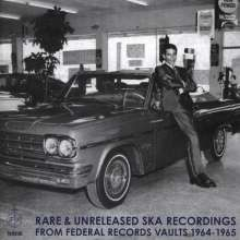 Rare & Unreleased Ska Recordings From Federal Rec., CD