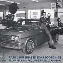 Rare & Unreleased Ska Recordings From Federal Records Vaults 1964-1965, LP