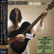 Jackson Browne: Solo Acoustic Vol.1 +1, CD