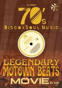 DJ Oggy: Legendary Motown Beats Movie By Av8 -70's Disco & Soul Music-, DVD