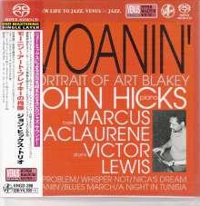 John Hicks (1941-2006): Moanin': Portrait Of Art Blakey (Digibook Hardcover), SACD Non-Hybrid