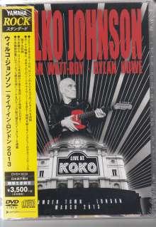 Wilko Johnson: Live At Koko 2013, 2 CDs und 1 DVD