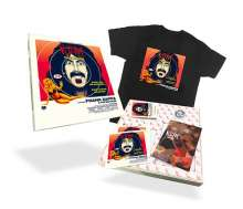 Frank Zappa (1940-1993): Roxy - The Movie (Blu-ray + CD + Cassette + T-Shirt) (Box im LP-Format), Blu-ray Disc