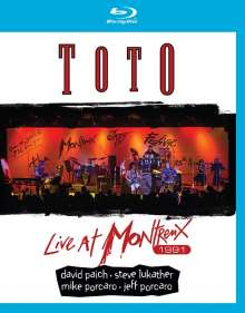 Toto: Live At Montreux 1991, Blu-ray Disc