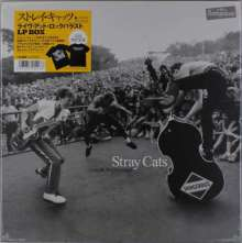 Stray Cats: Live At Rockpalast 1981 & 1983 (180g) (Limited-Edition-Box-Set) (+ T-Shirt Gr. L), 3 LPs