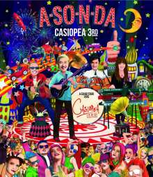 Casiopea: A-SO-N-DA: A-SO-BO Tour 2015, Blu-ray Disc